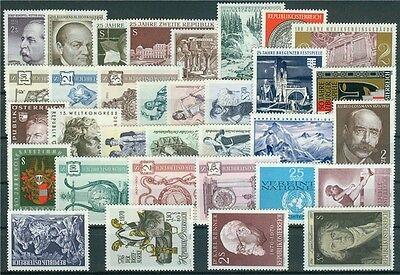 Österreich Jahrgang 1970 Michel Nr. 1320-1352 postfrisch