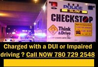 Refusal or DUI Charge In EDMONTON- Call Our Lawyers 780 729 2548