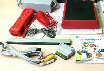 Nintendo Wii Mini Console - Tested & working and 1 games