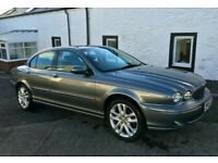 Jaguar x -type sport low mileage 48000 miles smooth running luxury car first to view wil buy