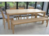 Habitat 8 Seater Radius Dining Table