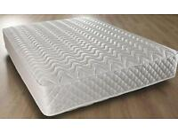 NEW Double mattress 4ft6 135cmx190cm • 13.5g open coil spring system