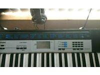 Casio CTK 1550 keyboard headphones and stand