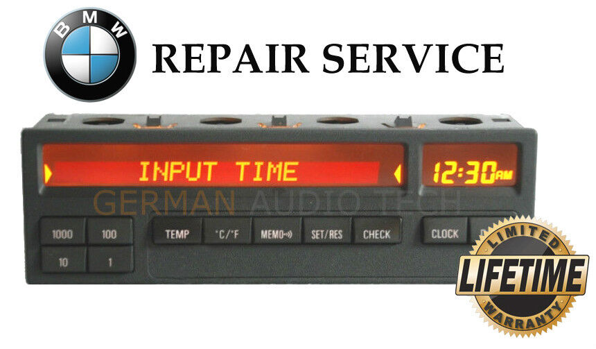 Details about BMW E36 11 BUTTON ON BOARD COMPUTER (OBC) PIXEL LCD DISPLAY  REPAIR SERVICE FIX