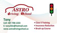 Astro Driving School $450 Full course! Brush up $90!!!