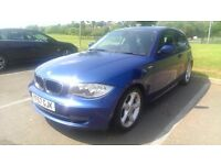 2007/57 BMW 120d SE, Le Mans Blue, Full and Extensive History, New MOT, great value!