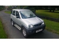 DAIHATSU TERIOS 1.3 Tracker 5dr **SERVICE HISTORY**PERFECT ENGINE & GEAR BOX**VERY GOOD EXAMPLE**