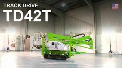 Nifty Td42t Boom Lift 48.5 Ft Work Height 25 Ft Outreach Only 4500lbs Diesel