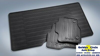 BRAND NEW FORD OEM 3PC ALL WEATHER RUBBER MATS 2015   2018 F150 SUPER CREW