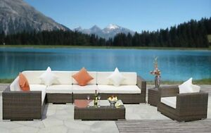 Ensemble patio meubles terrasse jardin dans grand for Ensemble patio liquidation
