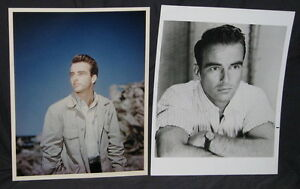 TWO RARE EARLY MONTGOMERY CLIFT PORTRAIT STILLS