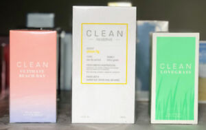 3 CLEAN Fragrances available - priced individually