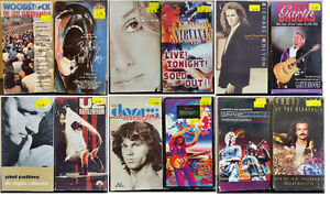 Looking for  Concert and Music - Related VHS Tapes