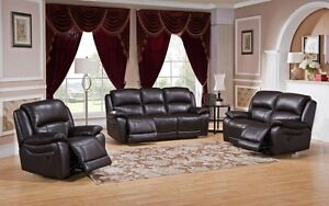 Top grain leather recliners by Amax, many colors 3 PC FOR $2699