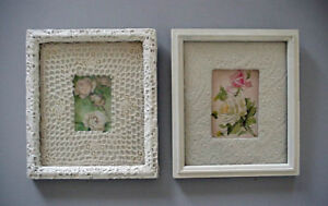 Set One of Two Rare Refurbished Hand Crafted Frames Prints