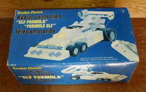 Vintage Radio Shack Remote Control Elf Formula Race Car