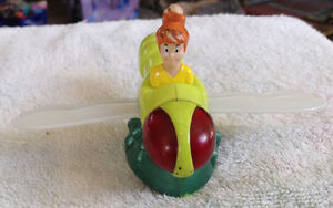FIGURINE BURGER KING 1998 BUG RIDERS BOOMER ON FIREFLY TOY