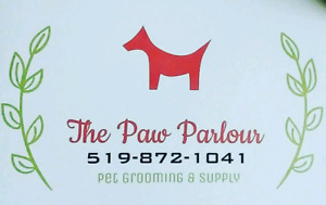 The Paw Parlour Pet Salon in Stratford Ontario