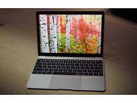 "Silver Macbook 12"" Retina Display 4 Months old"