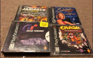 Various Sony PlayStation 1 (PS1) Games