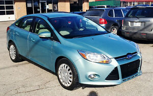 2012 Ford Focus SEL 1 OWNER NO ACCIDENTS BLUETOOTH HEATED SEATS