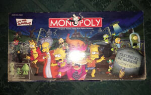 The Simpsons Halloween Monopoly