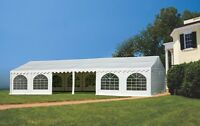 FREE Shipping on brand new 20' X 40' Fully Enclosed Party Tent