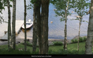 Cottage Rental - West Facing, Lake Front Oasis