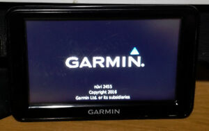 Used Garmin Nuvi 2455LMT With Power Cable and Suction Cup Mount