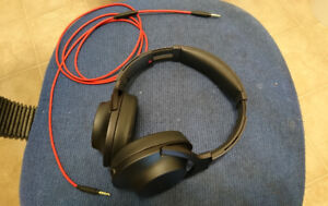 Sony h.Ear on Headphones MDR-100AAP w/aftermarket cable