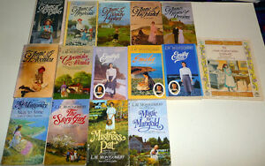 Anne of Green Gables & Emily of New Moon set of 15