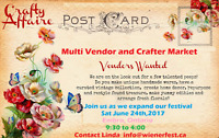 Multi Vendor and Crafters Market