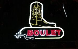 Enseigne lumineuse Boulet No Item #1235