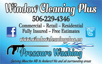 Window cleaning & Pressure washing