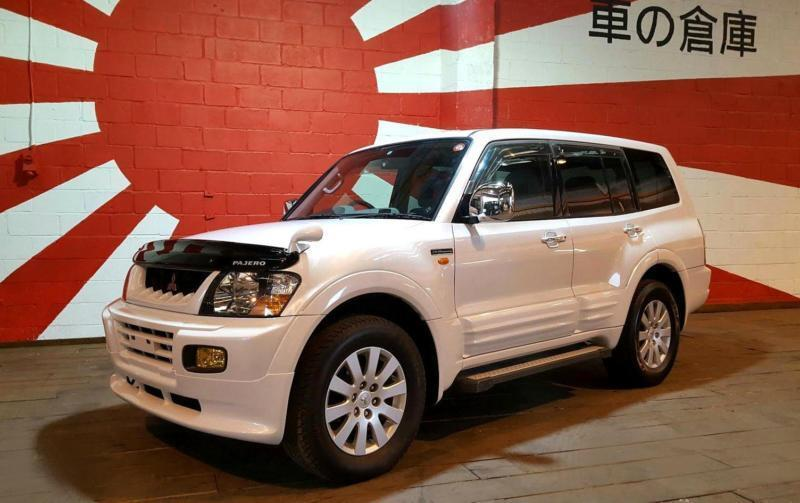 Rare Mitsubishi Pajero Shogun 20th Anniversary Premium Package Evo Styling Kit