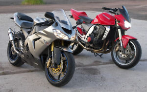 Two Kawasaki Ninjas,  Z1000 and ZX-10R *$1000 price reduction*
