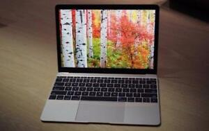 "Apple MacBook 12"" Laptop 1.1Ghz 8GB 256GB SSD Early 2015 S. Gray"