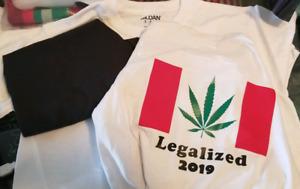 Customized vinyl shirts