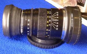 Leica Lens Leiz Wetzlar 90mm f/4 Elmar - C with Sony NEX adapter
