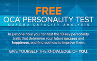 FREE PERSONALITY TEST .. Discover your strengths and weaknesses.