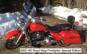 2003 Harley Davidson Firefighter Special Edition