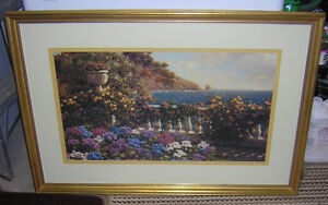 NICE GLASS FRAMED PICTURE 2.5 X 3 FEET