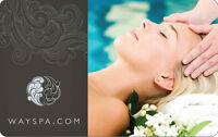 Two $150 WaySpa gift cards