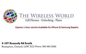 Express 1 Hour Service Available For iPhone & Samsung Repairs.