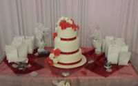 wedding cakes/Gâteaux pour mariages affordable prices