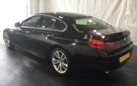 2015 BLACK BMW 640D GRAN COUPE 3.0 SE DIESEL AUTO 4DR CAR FINANCE FR £88 PW
