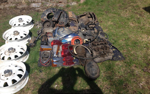 1972 Volkswagen Super Beetle Parts