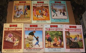 Lot of 7 Boxcar children books  $10 for the lot