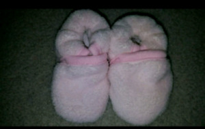 6 month slippers brand new still attatched