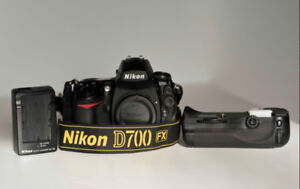 Nikon D700 body plus MB-D10 battery pack